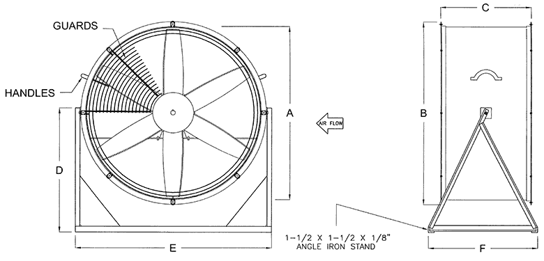 Man & Product Coolers Model MS cvmin